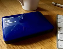 My Passport Ultra hard drive lets you store up to 177 hours of 4K footage
