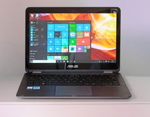 Asus ZenBook Flip UX360CA review: Design downers