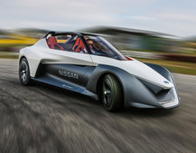 Nissan BladeGlider first drive: Madcap concept hints at all-electric sports car future