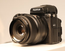 Fujifilm goes mirrorless medium format: GFX 50S is a 50-megapixel whopper on a small(ish) scale