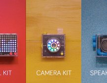 Kano is seeking funding for three new coding kits: Camera, Speaker and Pixel