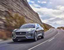 Jaguar's first electric car is the I-Pace SUV