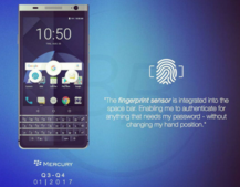 BlackBerry's final phone, the Mercury, set for CES 2017 reveal