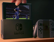 This is what FIFA on Nintendo Switch looks like