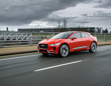 Electric Jaguar I-Pace hits the road for first time, production model unveiled in late-2017