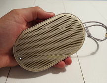 B&O Play BeoPlay P2 is a palm-sized wireless speaker you control with your hands