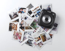 Fujifilm Instax Square SQ10 combines instant photo printing with a digital image sensor