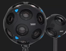 Facebook's new Surround 360 VR cameras will go on sale this year
