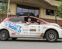 Nissan Leaf takes on Mongol Rally: 10,000 miles in an all-electric vehicle