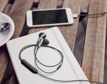 Got an iPhone or iPad? Check out the Q Adapt In-Ear headphones by Libratone