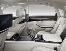 Audi A8 can be specced with a 23 speaker Bang & Olufsen 3D sound system