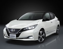 New Nissan Leaf unveiled: Improved design, more power and 235-mile range