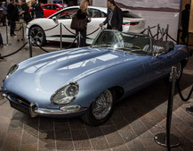 Jaguar E-Type reborn as a modern electric masterpiece, the E-Type Zero