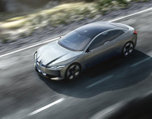 BMW commits to electric car production, introduces i Vision Dynamics concept coupe