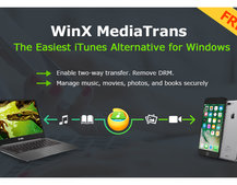 How to manage your iPhone in Windows with WinX MediaTrans (no iTunes needed)