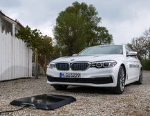 BMW to introduce wireless car charging with 2018 530e