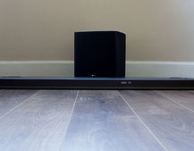 LG SJ9 soundbar review: Dolby Atmos in a compact package