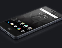 BlackBerry Motion touchscreen phone fully revealed in leaked image