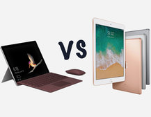 Microsoft Surface Go vs Apple iPad 9.7 (2018): What's the difference?