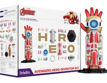 Remember the LittleBits R2-D2? This Avengers Hero Inventor Kit means you can go full Tony Stark