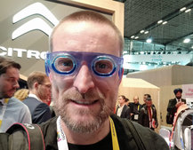 Seetroen anti-travel sickness glasses mean you never have to disconnect on the road