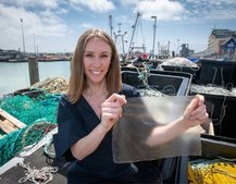 MarinaTex, a new bioplastic made of organic fish waste, wins 2019 James Dyson Awards