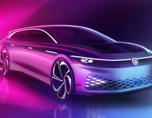 VW's ID. Space Vizzion is an estate car from the future