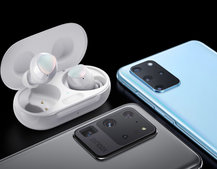 Samsung Galaxy S20+ and S20 Ultra advert leaks, shows Galaxy Buds+ too