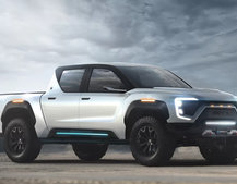 Nikola teases Badger electric pickup that uses hydrogen and battery power