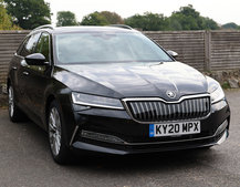 Skoda Superb iV Estate plug-in hybrid review: The name doesn't lie