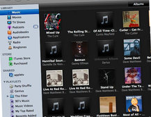Apple iTunes 8 - Mac