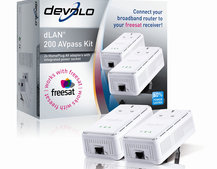 Devolo dLAN 200 AVpass kit