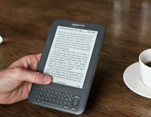 First Look: Amazon Kindle Keyboard 3G