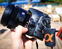 First Look: Sony Alpha SLT-A65
