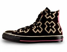 Converse launch Product Red All Star Africa Mudcloth shoe