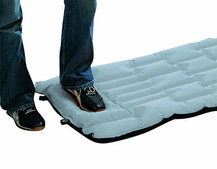 Ajungilak D-Lux Pump Mat airbed:  65 per cent smaller pack