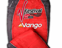 R and R Sleeping Bag from Vango charges your mobile while you snooze
