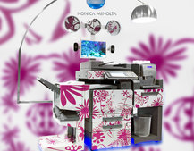 Konica Minolta unveils the printing coffee machine