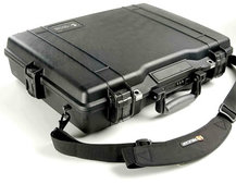 Peli 1945 laptop case that's unbreakable and even chemical resistant