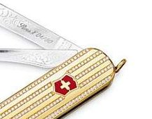 £35k diamond-encrusted Swiss Army Knife anyone?