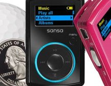 SanDisk shows off Sansa Clip MP3 player