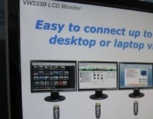 CeBIT 2008: Asus VW223B monitor to come with DisplayLink built-in