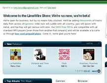 LimeWire opens online store with 500,000 songs