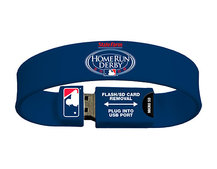 Baseball league launches USB wristband