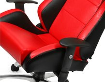 Racing car office chair launches