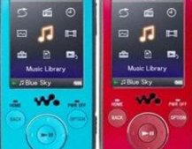 Sony E series MP3 players leaked