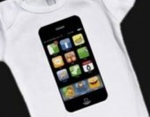 Sprogs sport iPhone baby-gro