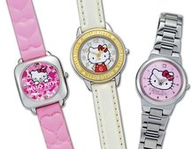 Citizen goes cutesy with Hello Kitty watches