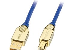 "Lindy offers ""premium gold"" USB cable"