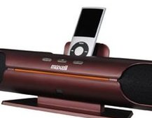 Maxell Japan refreshes iPod dock line-up